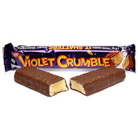 Violet Crumble Candy Bars: 6-Piece Box