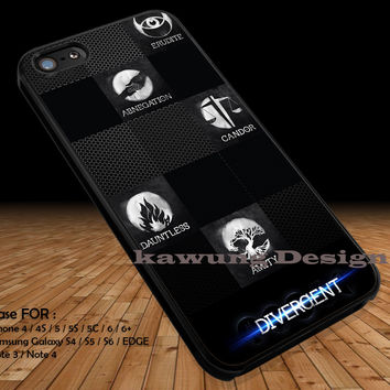 The Symbols Divergent  iPhone 6s 6 6s+ 5c 5s Cases Samsung Galaxy s5 s6 Edge+ NOTE 5 4 3 #movie #divergent DOP2114