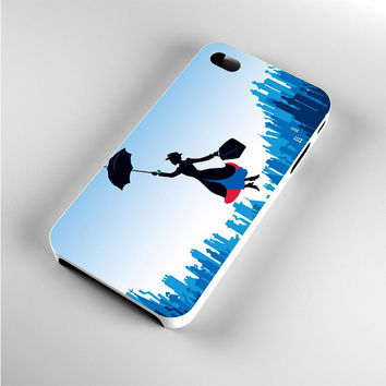 Mary Poppins Blue City iPhone 4s Case