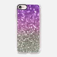 Lilac and Gray iPhone 7 Case by Lisa Argyropoulos | Casetify