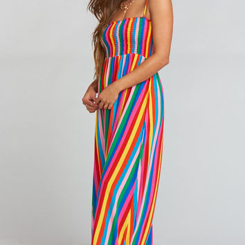 Maggie Maxi Dress - Tulum Stripe
