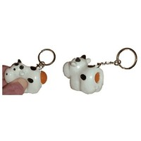 Naughty Cow Keychain [Toy]
