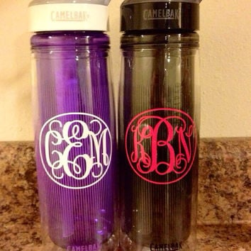INSULATED & FILTERED Monogrammed Camelbak Water Bottle