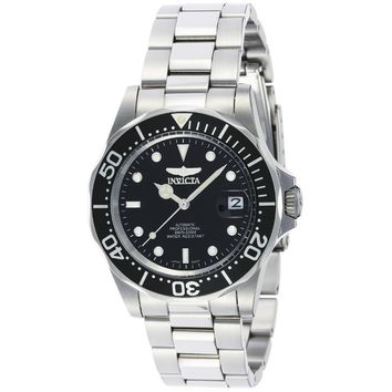Invicta Men's 8926 Pro Diver Automatic 3 Hand Black Dial Watch