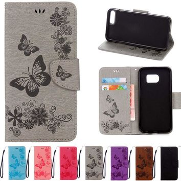For Apple iphone 7 6 6S Plus 5 5S Case Wallet Flip Leather Coque For Samsung Galaxy S8 Plus S7 S6 edge A3 A5 A7 J3 S5 S4 S3 Mini