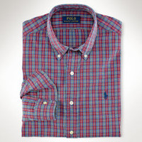 Men's Sport Shirts | Oxford, Gingham, Broadcloth | Ralph Lauren