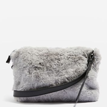 RUPERT Faux Fur Cross Body Bag