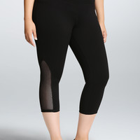 Torrid Active - Crop Mesh Leggings