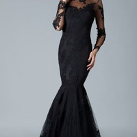 Cutaway Back Gown by Janique
