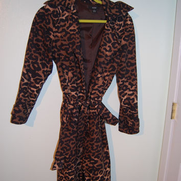 Cheetah Alfani Coat