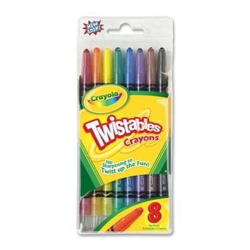crayola twistable crayons, non-toxic, 8/ Case of 8