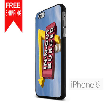 In N Out Burger  Funny FDL iPhone 6 Case