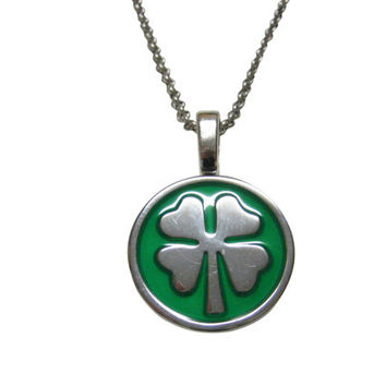 Four Leaf Clover Lucky Pendant Necklace