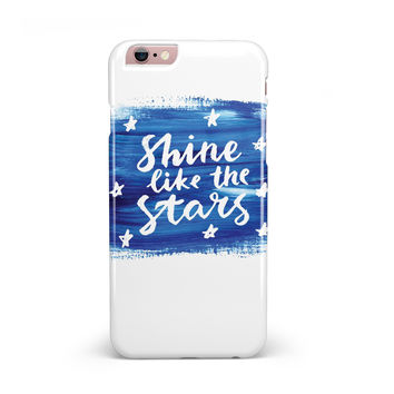 Shine Like the Stars iPhone 6/6s or 6/6s Plus INK-Fuzed Case