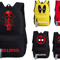 FREE SHIPPING Deadpool Travel Backpack