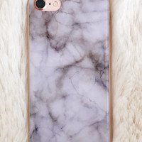 Lilac Marble iPhone 7/7+ Case