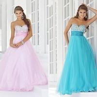 STOCK New Hot Prom Party Sweetheart Bridesmaid Evening Dress Size6-8-10-12-14-16