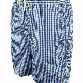 Ralph Lauren Men's Plaid Swim Shorts