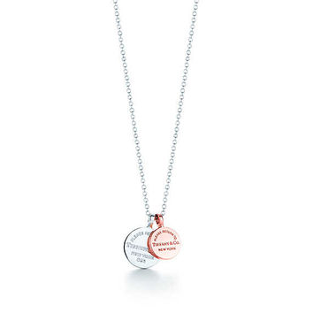 Tiffany & Co. - Return to Tiffany®:Circle Duo Pendant