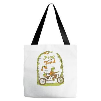 frog & toad Tote Bags