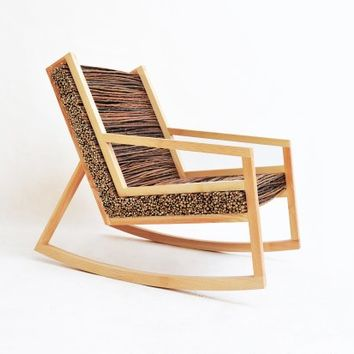 HALUZ (rocking-chair) By Tomas Vacek