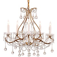 Currey & Co Paramour Chandelier - NOW IN STOCK!