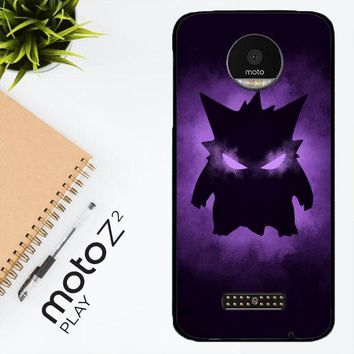 Pokemon Gengar X4495 Motorola Moto Z2 Play Case