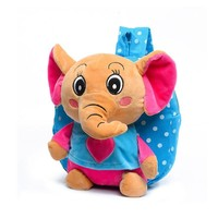 Cute cartoon toys small elephant backpacks children school bags kindergarten girls boys kid backpack