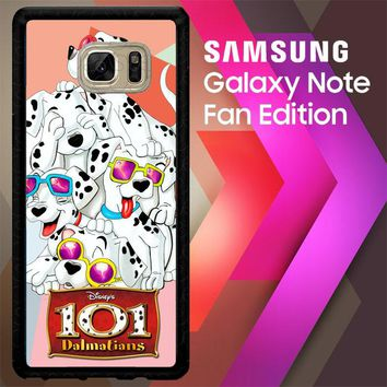 101 Dalmantian C0149 Samsung Galaxy Note FE Fan Edition Case