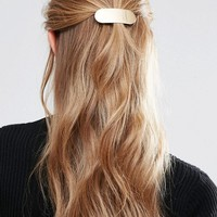 Glamorous Minimal Rectangle Hair Clip at asos.com