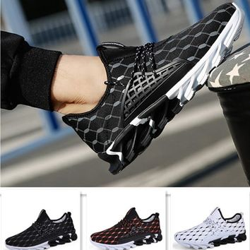 Popular Mens Shoes For Male Lace-Up Style Fashion Comfortable Sneakers Casual Youth Breathable Zapatillas de deporte Footwear