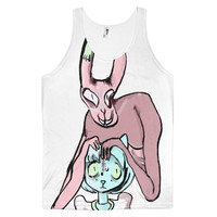 Bunny and Kitty Tank Top