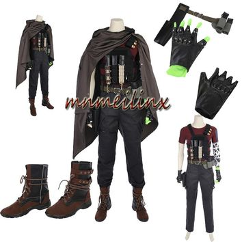 Hot Cakes Deadpool 2 Nathan Summers Cosplay Costume Full Suit Any Size Customized