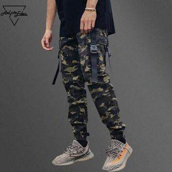 auguau Camouflage Cargo Pants