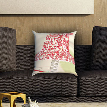 Paper Towns Collage Pillow Cover , Custom Zippered Pillow Case One Side Two SIde