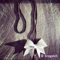 Glitter mini cheer bow lanyard. Available in any color. Check out our color chart page for color reference.