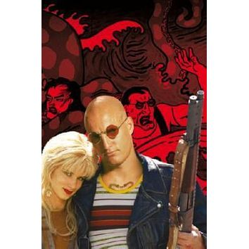 Natural Born Killers Poster Standup 4inx6in