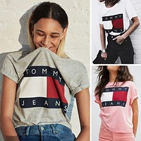 T* Women Tee Shirt T-Shirt Top Blouse