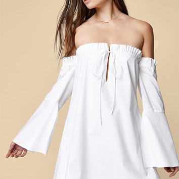 Dolce Vita Delainey Off-The-Shoulder Dress at PacSun.com