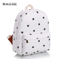 Stylish Fashion Travel Casual Canvas Backpack = 4887759428