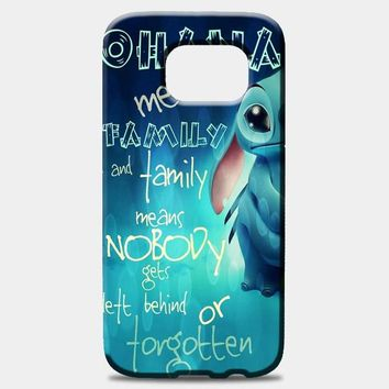 Ohana Means Family Samsung Galaxy Note 8 Case
