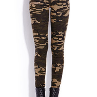 Camo Queen Jeggings