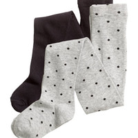 H&M 2-pack Tights $12.99