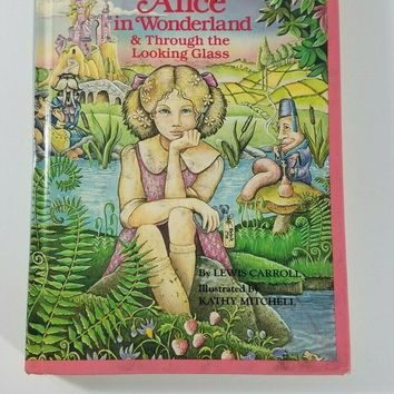alice in wonderland & through the looking glass 1986 golden classic