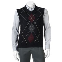 Dockers Classic-Fit Argyle Sweater Vest