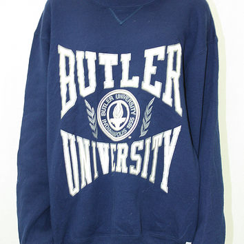 Vintage College Sweatshirt- Butler University