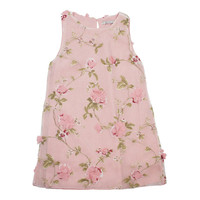 Mayoral Big Girls' Light Rose Floral Dress