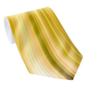 Sea Shell Yellow Moon Driving Dreams Tie