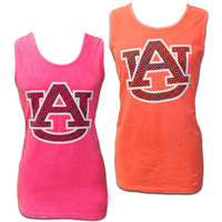 Tank, Comfort Color Au Greek Key | Auburn University Bookstore