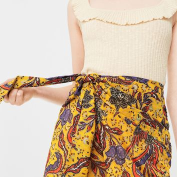 Floral print skirt - Women | MANGO USA